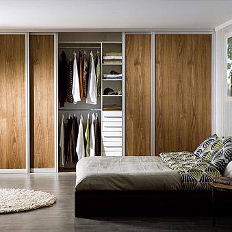 Garderobsinredning sovrum från Lumi